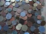 Супер-мего Гора монет с нашими и зарубежными (1221 монета) фото 9
