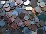 Супер-мего Гора монет с нашими и зарубежными (1221 монета) фото 11