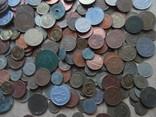 Супер-мего Гора монет с нашими и зарубежными (1221 монета) фото 12