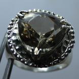 Мужское серебряное кольцо, фото №2