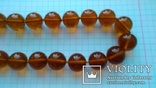 Бурштинове намисто  59.48 г   52 см, фото №8