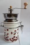 Кофемолка круглая Польша, фото №4