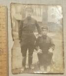 Фотография двух военных 50-е годы, фото №2