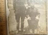 Фотография двух военных 50-е годы, фото №5