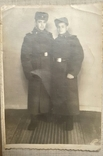 Два солдата в шинелях 1954г., фото №3