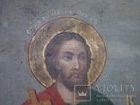 Ікона св.Петро і Пантелеймон, 77.5 на51.5см., фото №5