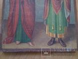 Ікона св.Петро і Пантелеймон, 77.5 на51.5см., фото №8
