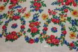 (не выкуп) Платок  140х140 Павлово-Посад (не поользованный) с биркой.1976 год.(нюанс), фото №8