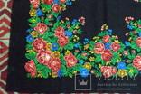 Платок  №4 головной (80х85) шерстяной ,цветастый. .не пользованный. без бирки, фото №5