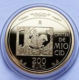 Набор 3 монеты 2007 года. Испания. (золото, серебро), фото №3