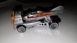 Машинка Хот Вилс Hot Wheels Аэромобиль стального цвета, фото №4