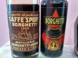 6 мини бутылочек ликера Caffe 60-80 годы, фото №2