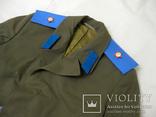 Офицерский плащ пальто СССР и нашивки, фото №3