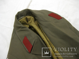 Офицерский плащ пальто СССР и нашивки, фото №6
