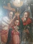 Храмовая икона Коронование Пресвятой Богородицы, фото №4