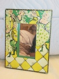Зеркало дерево авторская роспись, фото №3