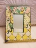 Зеркало дерево авторская роспись, фото №5