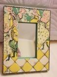 Зеркало дерево авторская роспись, фото №2