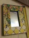 Зеркало дерево авторская роспись, фото №11