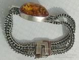 Браслет, серебро 925 пробы., фото №6