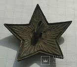 Довоенная звёздочка на головной убор, фото №3
