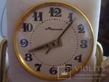 """Настольные часы """"Молния"""" 50-60гг.мрамор,рабочии, фото №7"""