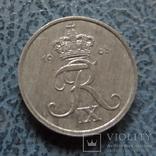 1 эре 1968 Дания цинк ($2.1.13) ~, фото №2