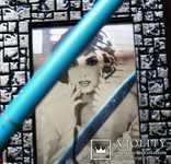 Винтажная гравюра на стекле - зеркале., фото №5