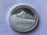 25 центов сша 2010 года. Серебро, фото №2