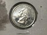 25 центов сша 1999 года. Серебро, фото №3