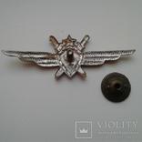 Знак классность Военный летчик авиации 2 класс ВВС СССР 1950 год, фото №5