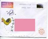 Прошедший почту конверт Канада природа, фото №2