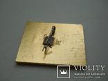 Значок Артек с оригинальным бумажным артековским  бланком, фото №5