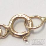 Золотая подвеска с натуральными рубинами и бриллиантами, фото №6