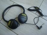 Оригинальные наушники Garrett ClearSound Easy Stow Headphones с регулятором громкости