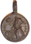 Католический медальон XVIII в.