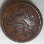 Пуговица Бельгия шинельная фото 1