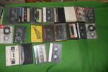 Аудиокассета кассеты 20 штук в лоте + 4 шт бонусом, фото №2