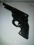 Пистолет двухствольный ,железный под восстановление .СССР, фото №2