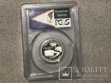 25 центов сша 2009 года. Серебро, фото №2