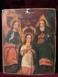 Икона Коронование Богородицы, фото №2
