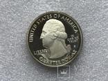 25 центов сша 2014 года. Серебро, фото №3
