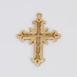 Золотой крестик, фото №3