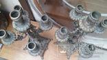 Антикварные канделябры бронза фото 2