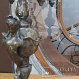 Антикварные канделябры бронза фото 4
