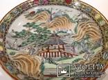 Тарелка - национальный Японский мотив/руч.роспись, фото №2