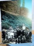Фото   ( 5 штук+1 )групповое с курорта Пятигорск. 1952 год. Псевдоцвет., фото №5