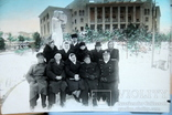 Фото   ( 5 штук+1 )групповое с курорта Пятигорск. 1952 год. Псевдоцвет., фото №7