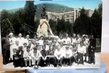Фото   ( 5 штук+1 )групповое с курорта Пятигорск. 1952 год. Псевдоцвет., фото №9