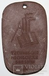 "Фарфоровый брелок Мейсен ""Технический колледж Дрездена им.А.Шуберта"", фото №10"